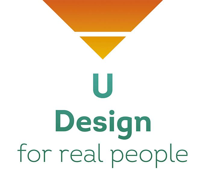 logo U Design for real people